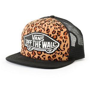 Vans Leopard Trucker Hat
